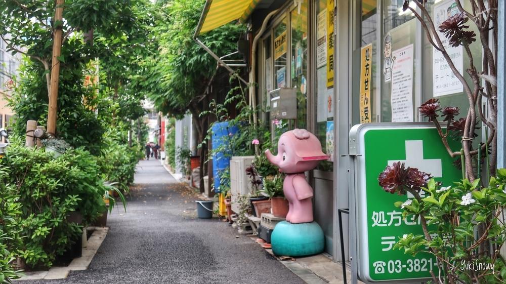 藍染大通り(2019-07-22 15:03)