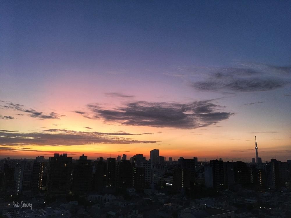 立秋の夜明け(2019-08-08 04:33)