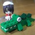 [フィギュア]レゴのワニ(2019-08-28)