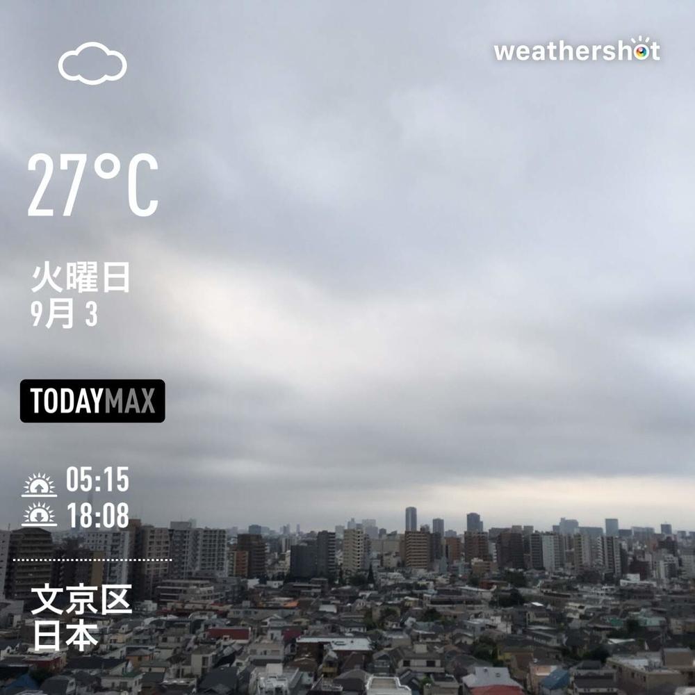 WeatherShot(2019-09-03)