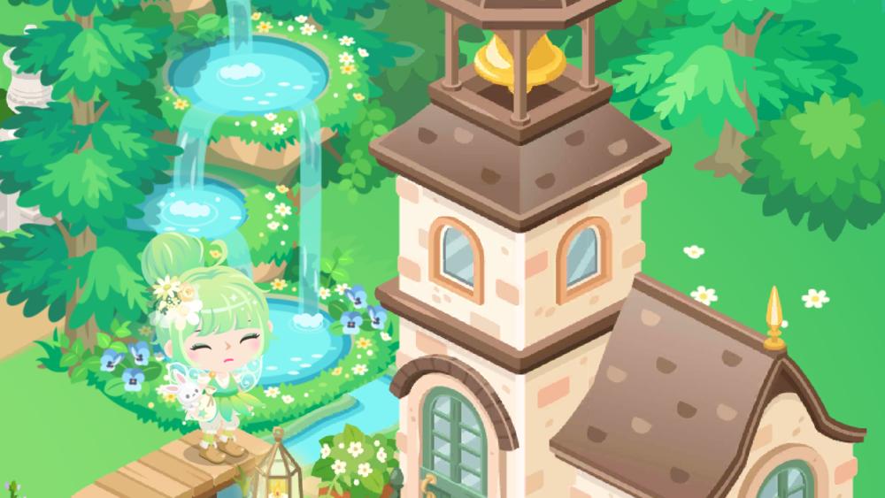 ピグライフふしぎな街の素敵なお庭(2019-10-10)