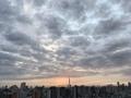 [空][雲][東京][朝](2019-10-24 06:00)