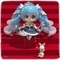 雪ミク Snow Princess Ver.@『ねんどろいど』シリーズ1000番記念展示会