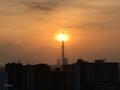 [空][雲][東京][朝][太陽](2019-10-31 06:26)