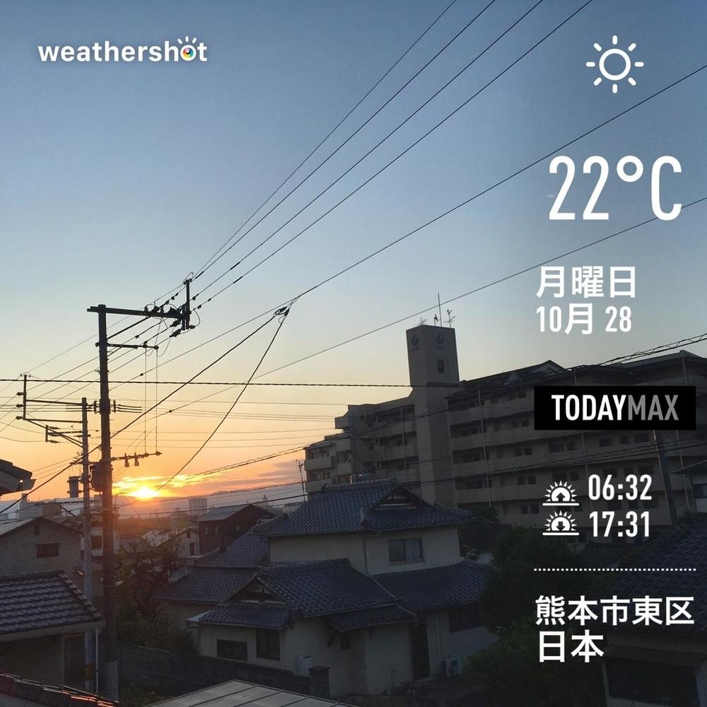WeatherShot(2019-10-28)