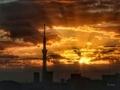[空][雲][東京][朝][日の出][空][雲][東京][朝](2019-11-15 06:27)