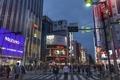 [東京][街角][夜景]夜の始まり@新宿(2019-11-03 16:40)