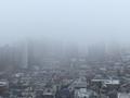 [空][雲][東京][朝]霧の朝(2019-11-25 07:25)