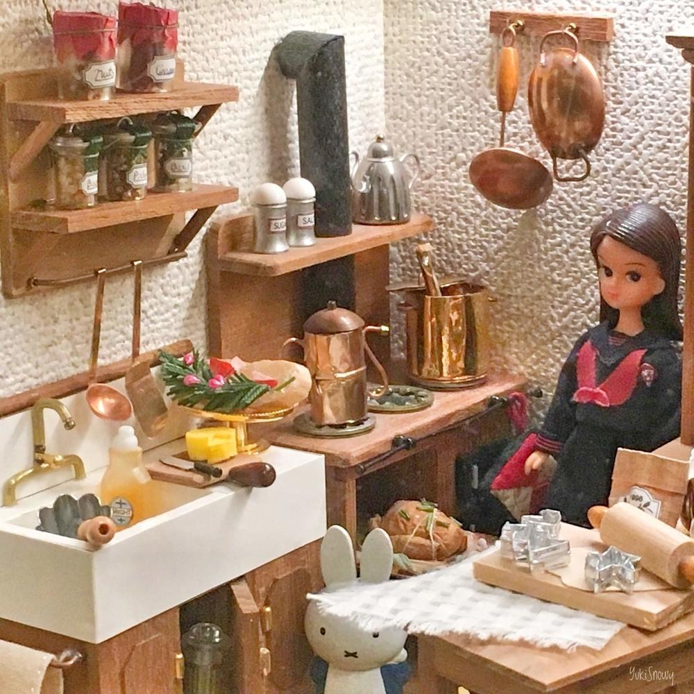 クリスマスハウス:キッチン