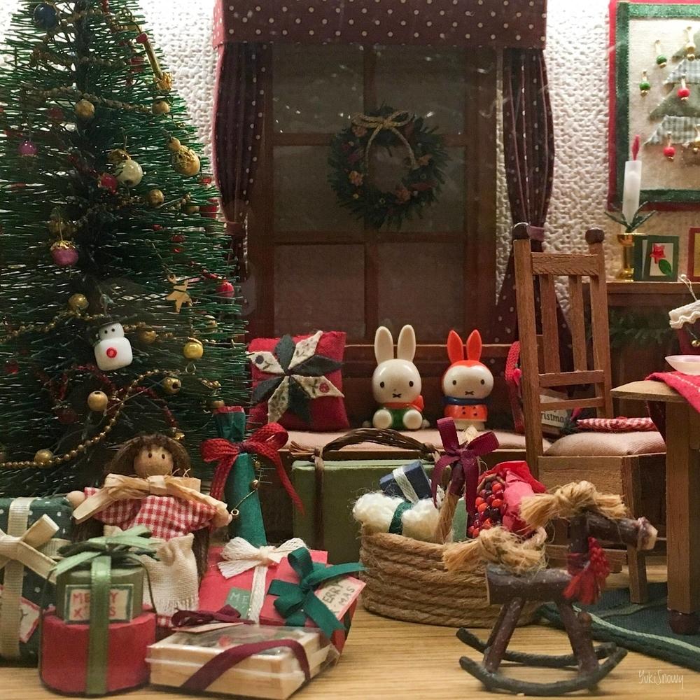 クリスマスハウス:リビング