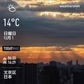 [Instaweather]WeatherShot(2019-12-01)