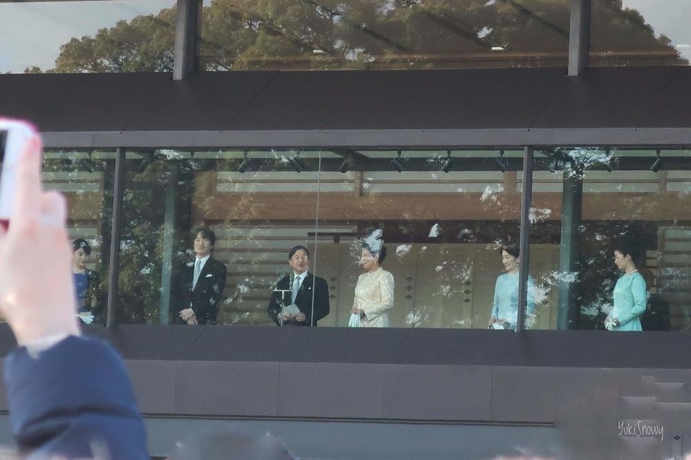 皇居一般参賀(2020-01-02 13:31)