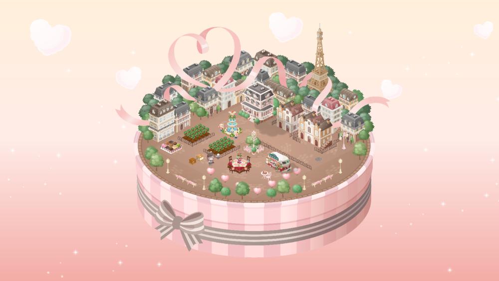 ピグライフふしぎな街の素敵なお庭(2020-02-08)