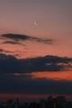 [月][空][雲][東京][朝](2020-02-21 06:00)