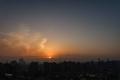 [日の出][空][雲][東京][朝](2020-02-22 06:37)