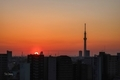 [空][雲][東京][朝][日の出][空][雲][東京][朝](2020-02-23 06:23)