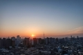 [日の出][空][雲][東京][朝](2020-03-01 06:25)