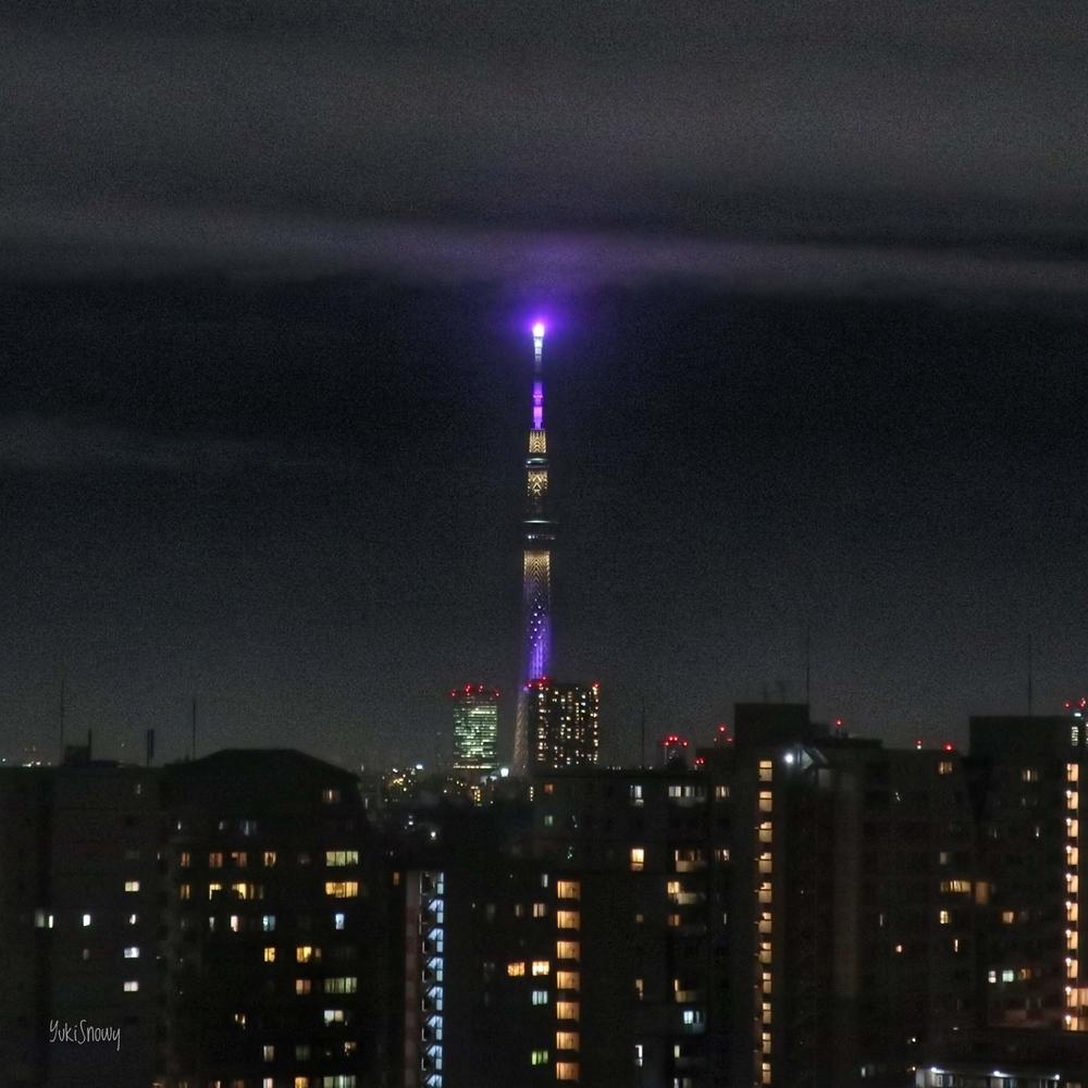 雲に輝く誕生石(2020-03-09 20:14)