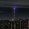 [東京][東京スカイツリー]雲に輝く誕生石(2020-03-09 20:14)