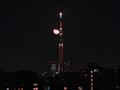 [月][夜景][スカイツリー](2020-03-13 22:20)