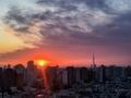 [日の出][空][雲][東京][朝](2020-03-16 05:57)
