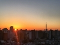 [日の出][空][雲][東京][朝](2020-03-17 05:50)