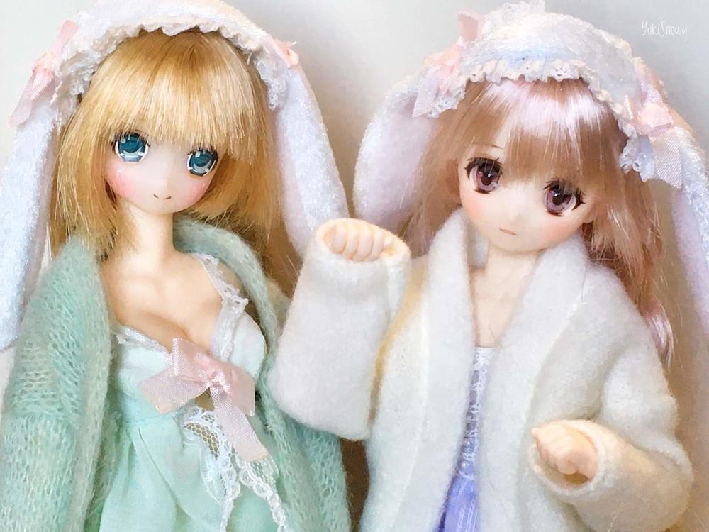 マシュマロうさぎさん楓花&瑛理