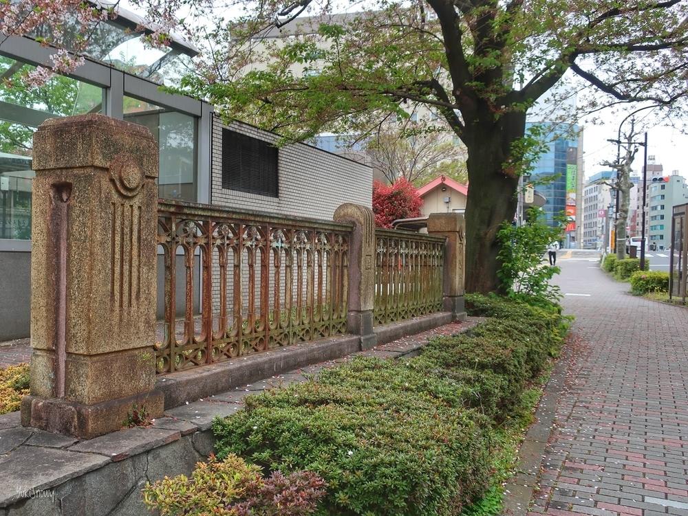 旧駒込橋の欄干(2020-04-12)