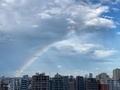 [空][雲][東京][大気光学現象][虹]虹(2020-07-26 16:44)