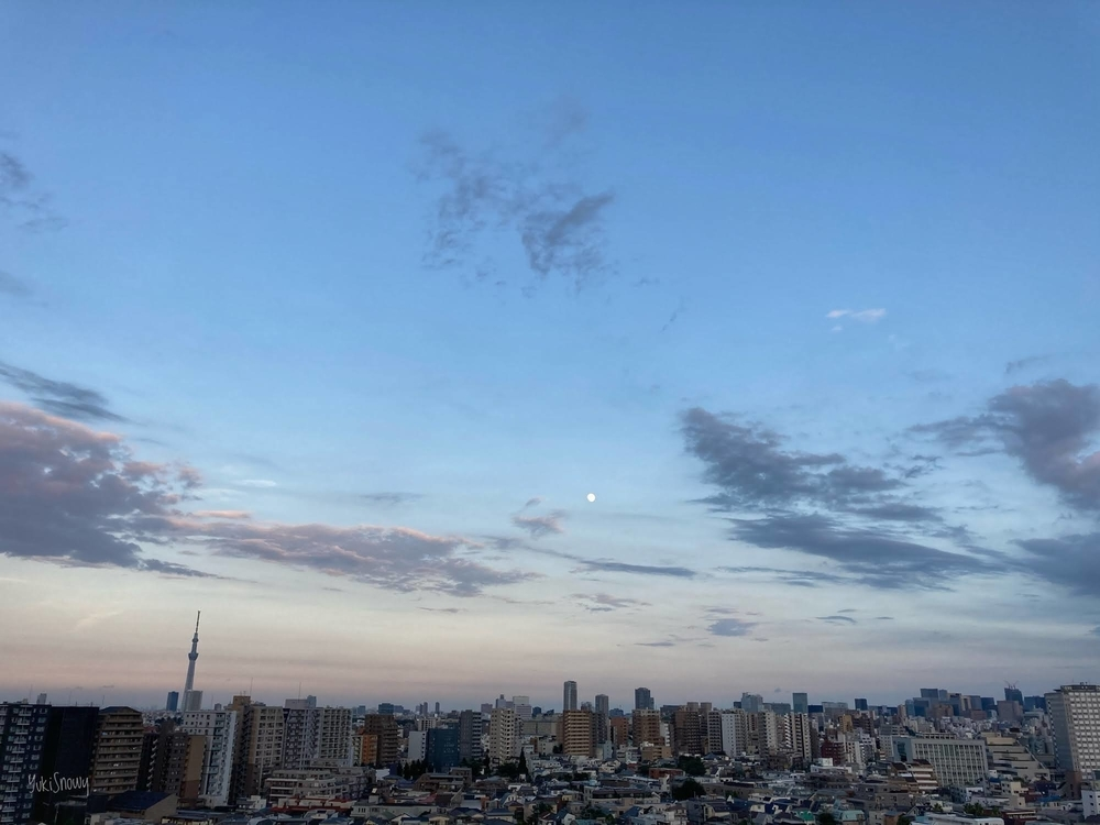 梅雨明けの宵(2020-08-01 18:31)