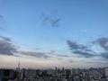 [空][雲][東京][月]梅雨明けの宵(2020-08-01 18:31)