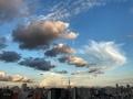 [夕焼け][空][雲][東京](2020-08-26 17:57)