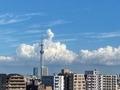 [夏][空][雲][東京](2020-08-29 14:27)