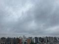 [空][雲][東京][朝](2020-10-08 10:08)