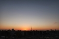 [日の出][空][雲][東京][朝](2020-10-21 05:56)