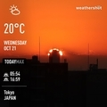 [Instaweather]WeatherShot(2020-10-21)