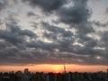 [日の出][空][雲][東京][朝](2020-10-28 06:03)