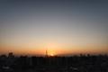 [日の出][空][雲][東京][朝](2020-11-16 06:25)