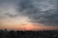 [日の出][空][雲][東京][朝](2020-11-18 06:25)