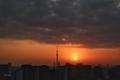 [日の出][空][雲][東京][朝](2020-11-18 06:33)