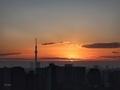[日の出][空][雲][東京][朝](2020-11-28 06:37)