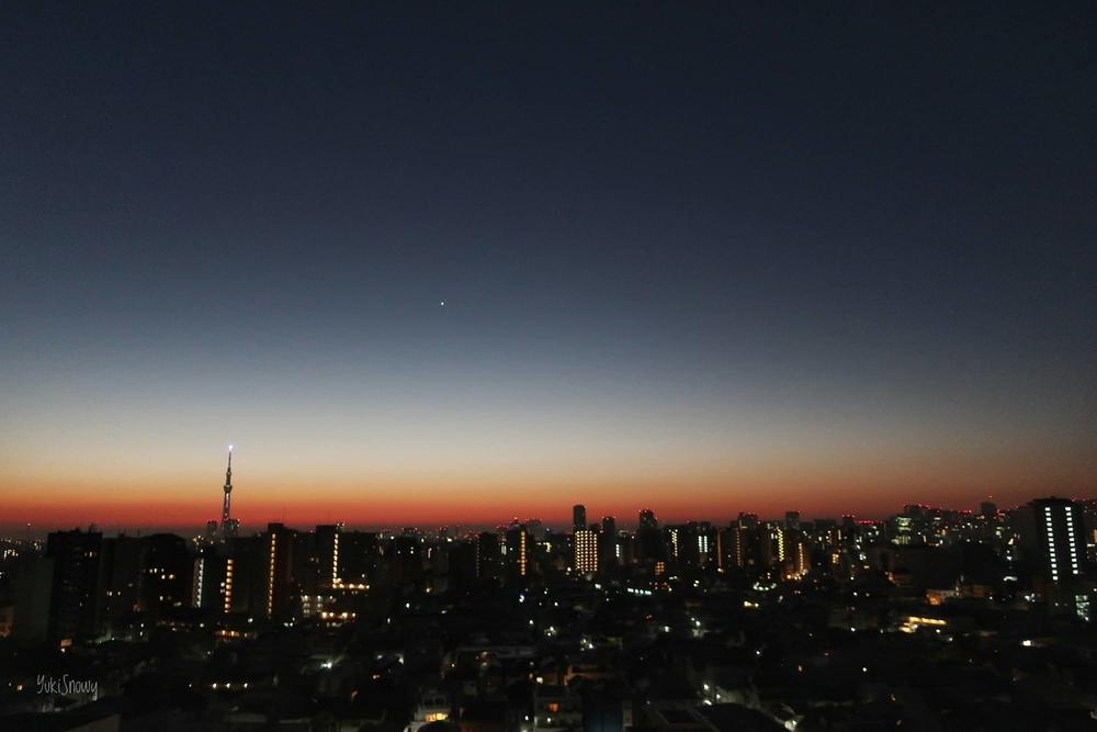明けの明星(2020-12-08 05:56)