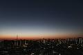 [星][空][雲][東京][朝]明けの明星(2020-12-08 05:56)