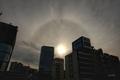 [空][雲][東京][大気光学現象][虹]22度ハロ(内暈@後楽園ブリッジ,2020-12-13 14:01)