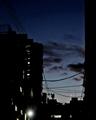 [星][月][空][雲][東京]木星と土星と月(2020-12-16 17:04)
