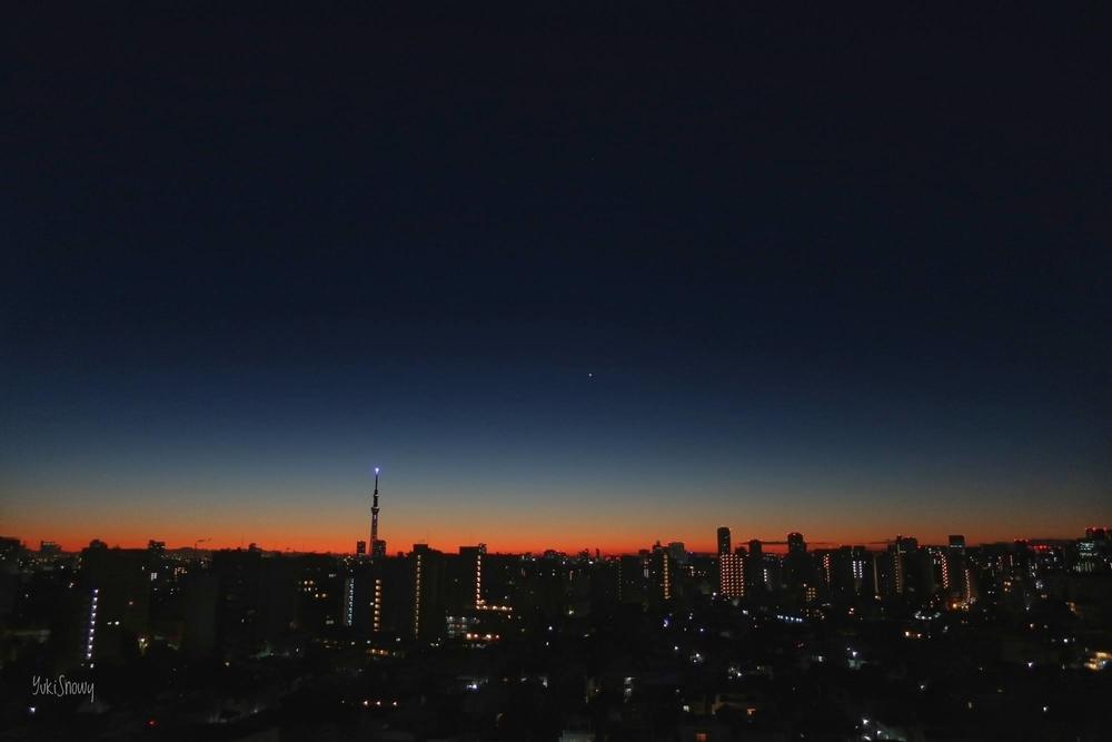 明けの明星(2020-12-17 05:58)