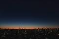 [星][空][雲][東京][朝]明けの明星(2020-12-17 05:58)