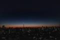 [星][空][雲][東京][朝]明けの明星(2020-12-18 05:57)