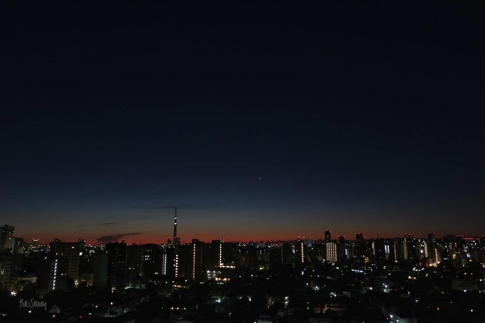 明けの明星(2020-12-19 05:51)