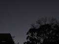 [星][月][空][雲][東京]木星と土星(2020-12-20 17:08)